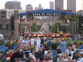 July 4 Concert Crowd Stage