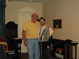 Josh & Rabbi Sytner