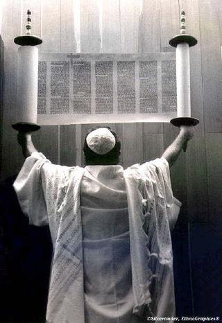 Torah Man Holding