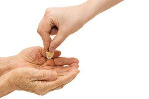Hands Begging