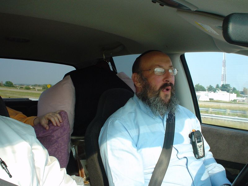 Road Trip with the Rabbi